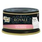 ROYALE TUNA BANQUET WITH PRAWNS 85g 12029932
